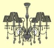 Luster Chandelier Vector Foto de archivo libre de regalías