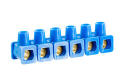 Luster Screw Terminals Stock Photography