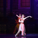 "Lustful eyes- ballet ""One Thousand and One Nights"" Stock Images"