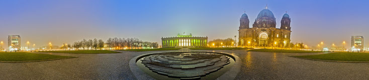 The Lustgarten in Berlin's Mitte district, Germany Royalty Free Stock Image