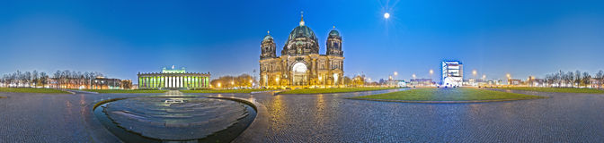 The Lustgarten in Berlin's Mitte district, Germany Stock Photo