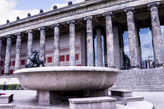 The Lustgarten Bowl outside the Alte Museum in Berlin Germany Stock Photos