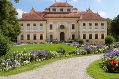 lustheim munich Германии замока снаружи Стоковое Изображение