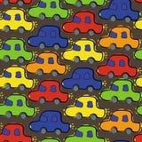 Lustige Autos. Muster lizenzfreie abbildung