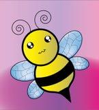 Lustige Biene Stockbild