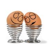 Lustige Eier Stockfoto