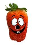 Lustige Erdbeere Lizenzfreie Stockfotografie