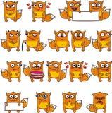 Lustige Füchse (3) Stockbilder