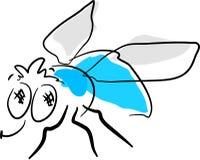 Lustige Fliege vektor abbildung