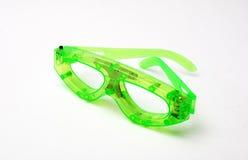 Lustige Gläser mit geführten Dioden Stockfotos