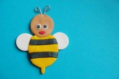 Lustige Honigbiene Lizenzfreie Stockbilder