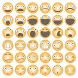 Lustige Karikatur Emoticons Lizenzfreie Stockfotos