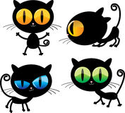 Lustige Katzen Lizenzfreie Stockfotos