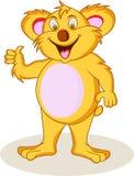 Lustige Koalakarikatur Lizenzfreie Stockfotos