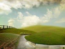 Lustige Landschaft Lizenzfreie Stockbilder