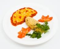 Lustige Nahrung Stockfotografie