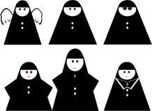 Lustige Nonne Stockbilder