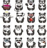 Lustige Pandas (1) Stockfotos