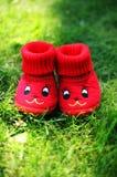 Lustige rote Beuten Stockfotos