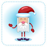 Lustige Santa Claus. Stockbild
