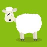 Lustige Schafe Lizenzfreies Stockfoto