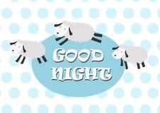 Lustige Schafe mit Farbhintergrund Lizenzfreies Stockfoto
