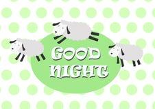 Lustige Schafe mit Farbhintergrund Stockfotos