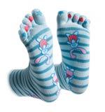 Lustige Socken Stockfoto