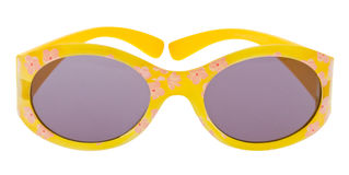 Lustige Sonnenbrillen getrennt auf Weiß Lizenzfreie Stockfotografie
