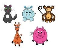 Lustige Tiere Lizenzfreies Stockbild