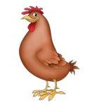 Lustige Tiere der Henne Stockbild