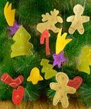 Lustige Weihnachtstabellen 1 Stockfoto