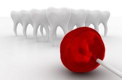 Lustige Zahnheilkunde Stockfoto