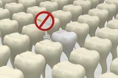 Lustige Zahnheilkunde Stockfotografie