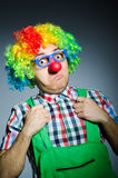 Lustiger Clown Stockfotos