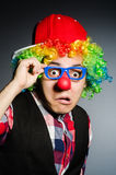 Lustiger Clown Stockfoto