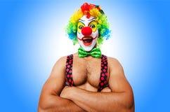 Lustiger Clown Stockfotografie