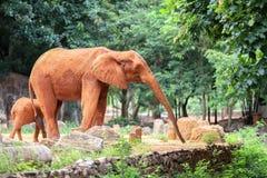 Lustiger Elefant lizenzfreie stockfotografie