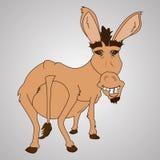 Lustiger Esel Stockbild