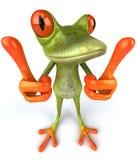 Lustiger Frosch Lizenzfreies Stockbild