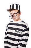 Lustiger Gefängnisinsasse Lizenzfreie Stockfotos