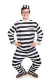 Lustiger Gefängnisinsasse Lizenzfreie Stockfotografie