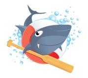 Lustiger Haifisch stockbild