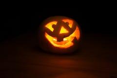 Lustiger Halloween-Kürbis Lizenzfreie Stockbilder