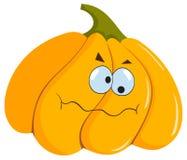Lustiger Halloween-Kürbis Lizenzfreies Stockfoto
