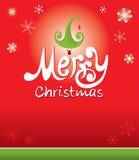 Lustiger Hintergrund -- Frohe Weihnachten Lizenzfreies Stockfoto