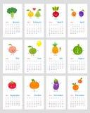 Lustiger Kalender 2019 lizenzfreie abbildung