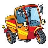 Lustiger kleiner Roller oder Auto mit Augen Lizenzfreie Stockbilder