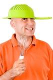 Lustiger Mann Lizenzfreies Stockfoto