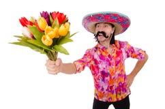 Lustiger Mexikaner Stockfoto